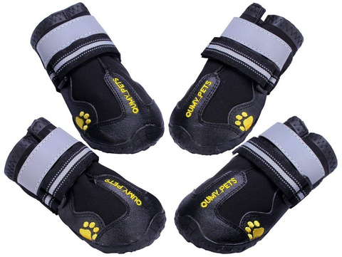 Waterproof, Wear-Resistant Boots for Dogs for Winter