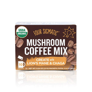 Four Sigmatic Mushroom Coffee with Lions Mane and Chaga