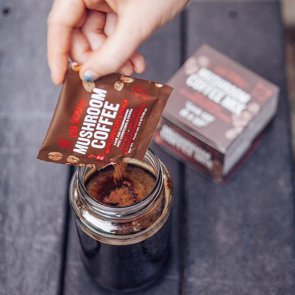 Four Sigmatic Mushroom Coffee with Cordyceps & Chaga