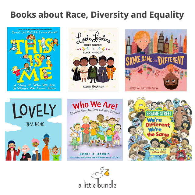 Books about Race, Diversity and Equality