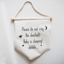 Baby is Sleeping Sign