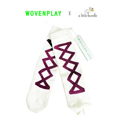 Wovenplay x ALB Ribbon Socks