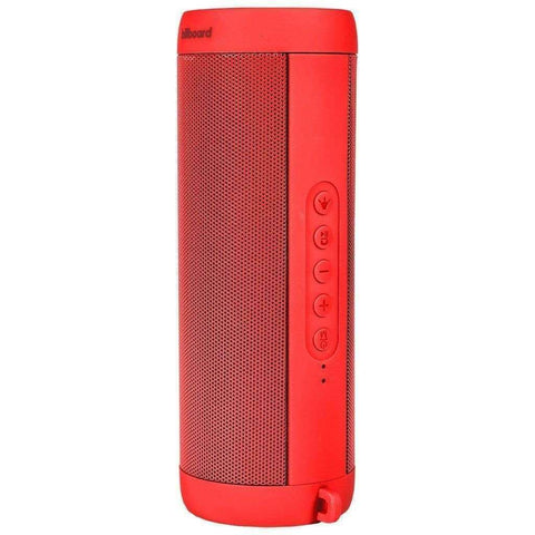 Billboard BB725 Waterproof Bluetooth Speaker with LED Light (Red)