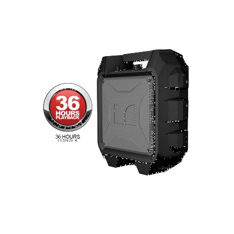 MONSTER RRMIN Rockin' Roller Mini Portable Indoor-Outdoor Bluetooth Speaker