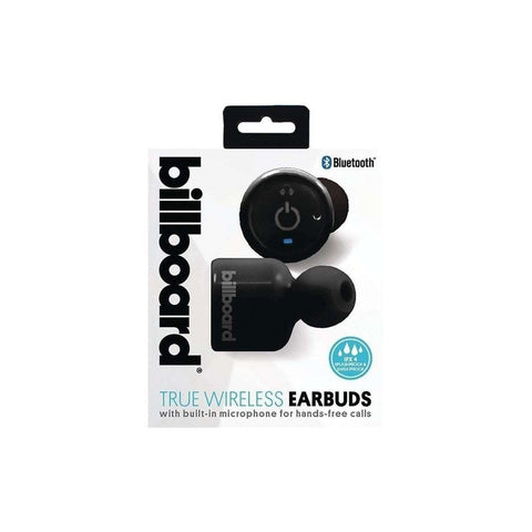 Billboard BBTT402 Bluetooth Earbuds with Microphone & Carry Case