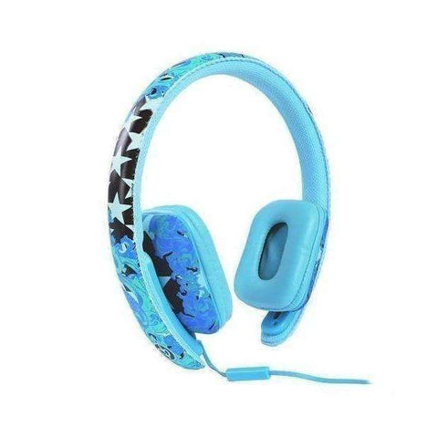 Ear Party Chic Buds Noise Cancelling Wired Headphone (Blue)