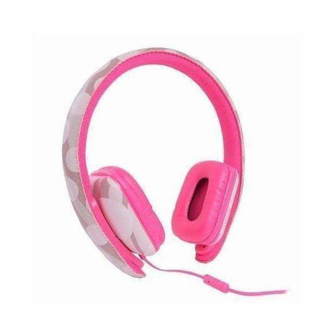 Ear Party Chic Buds Noise Cancelling Wired Headphones (Pink)