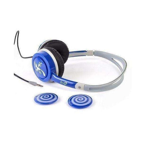 iFrogz IFLTRC-BL0 Audio Little Rockers Headphones(Gray,Blue)