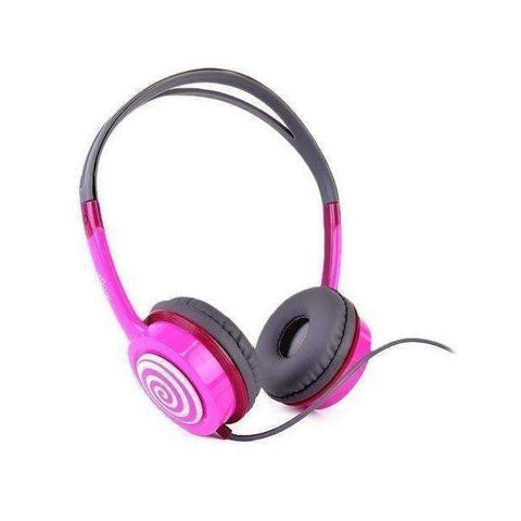 iFrogz IFLTRC-PK0 Audio Little Rockers Headphones (Pink/Gray)