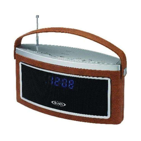 JENSEN SMPS-725 Bluetooth Stereo Speaker with AM-FM Radio & NFC