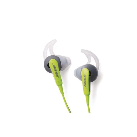 BOSE- GREEN SIE2i Sport In-Ear Earbuds (Manufactured Refurbished)