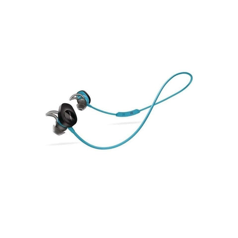 BOSE- SoundSport Bluetooth In-Ear Earbuds -Aqua (Manufactured Refurbished)