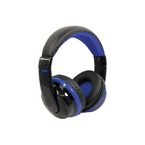 Billboard BB490 Bluetooth Over-Ear Foldable Headphones with Mic (Blue)