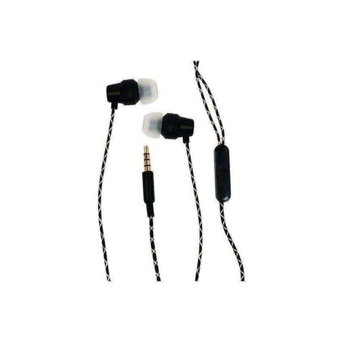 Billboard BB573 Extra Bass Stereo Earbuds with Mic (Black)