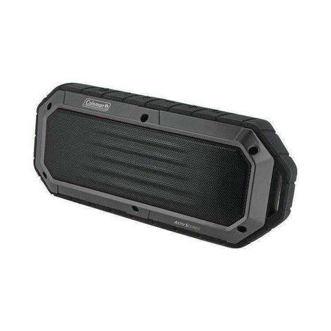 COLEMAN CBT16-GY Aktiv Sounds Waterproof Bluetooth Slim-Line Speaker (Gray)