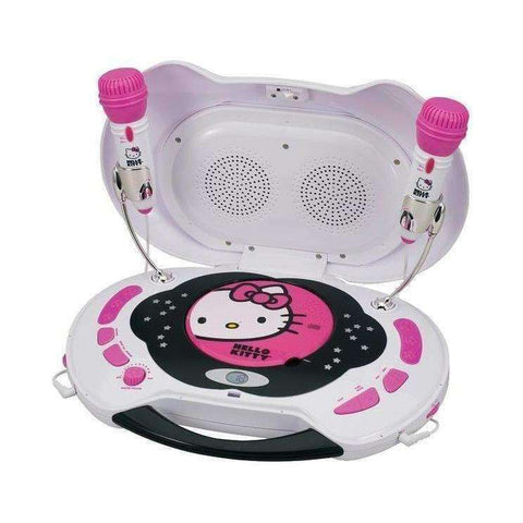 HELLO KITTY Karaoke System & CD Player