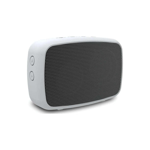 EMATIC Rugged Life NOIZE Bluetooth Speaker (White)