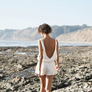 Low Back Romper