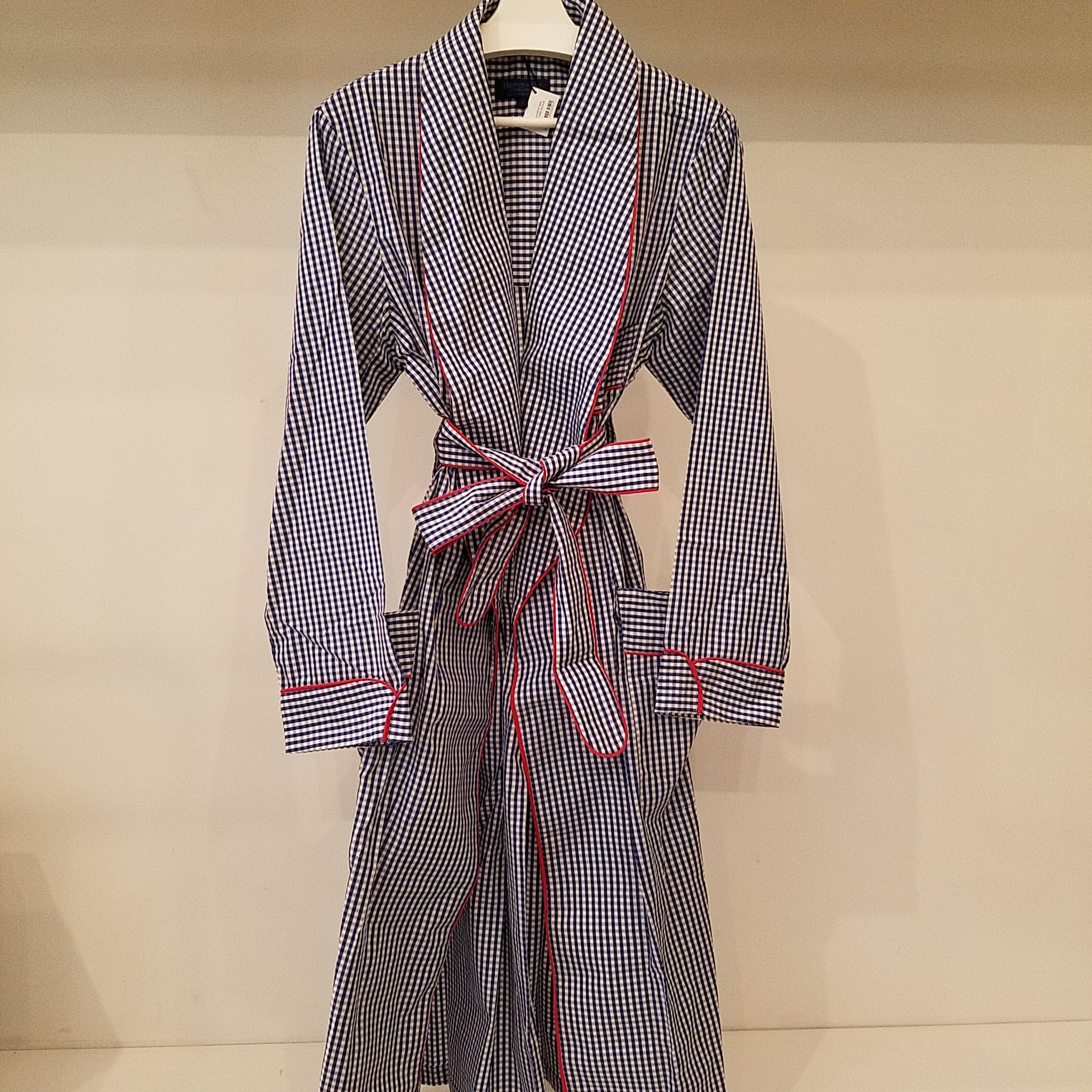 Hilditch & Key Gingham Check Robe