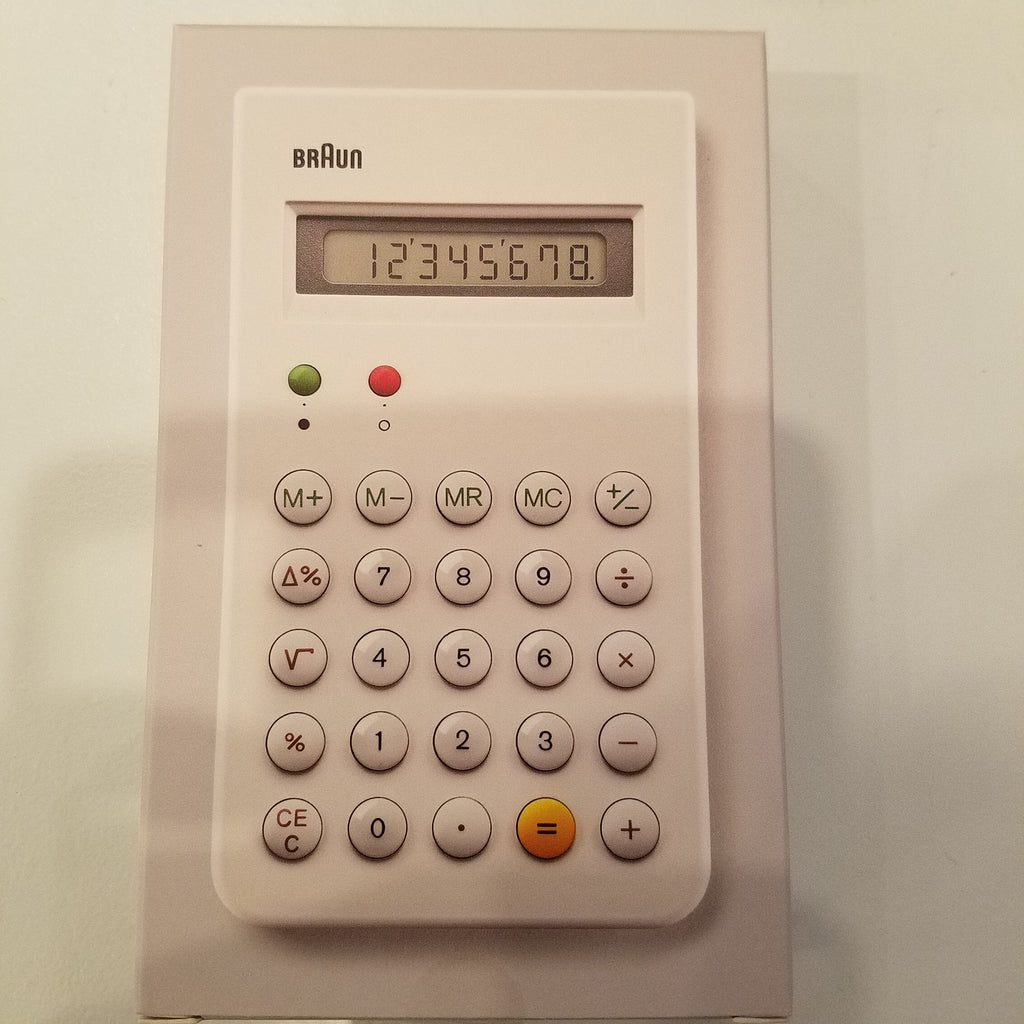 Braun Iconic Calculator