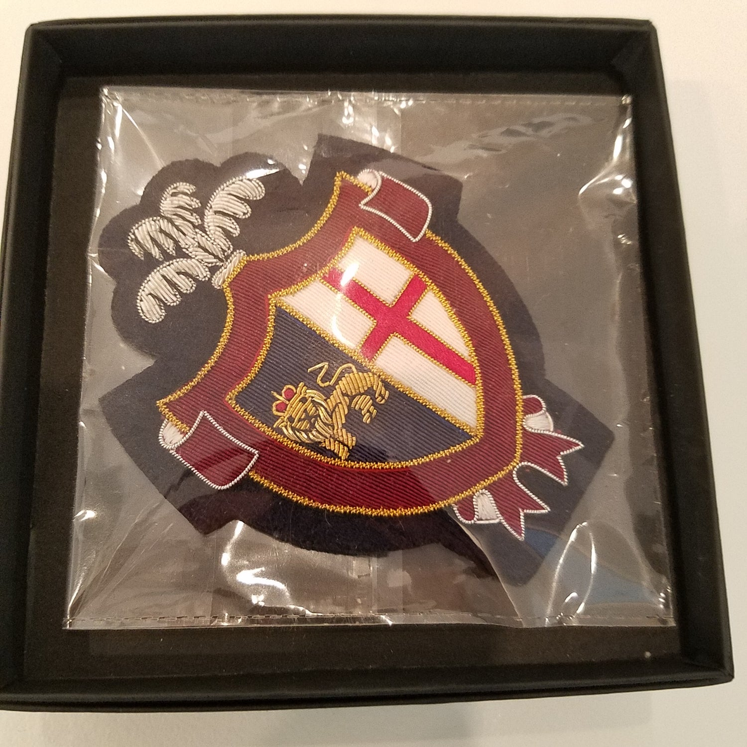 Benson & Clegg Lion & Cross Blazer Badge