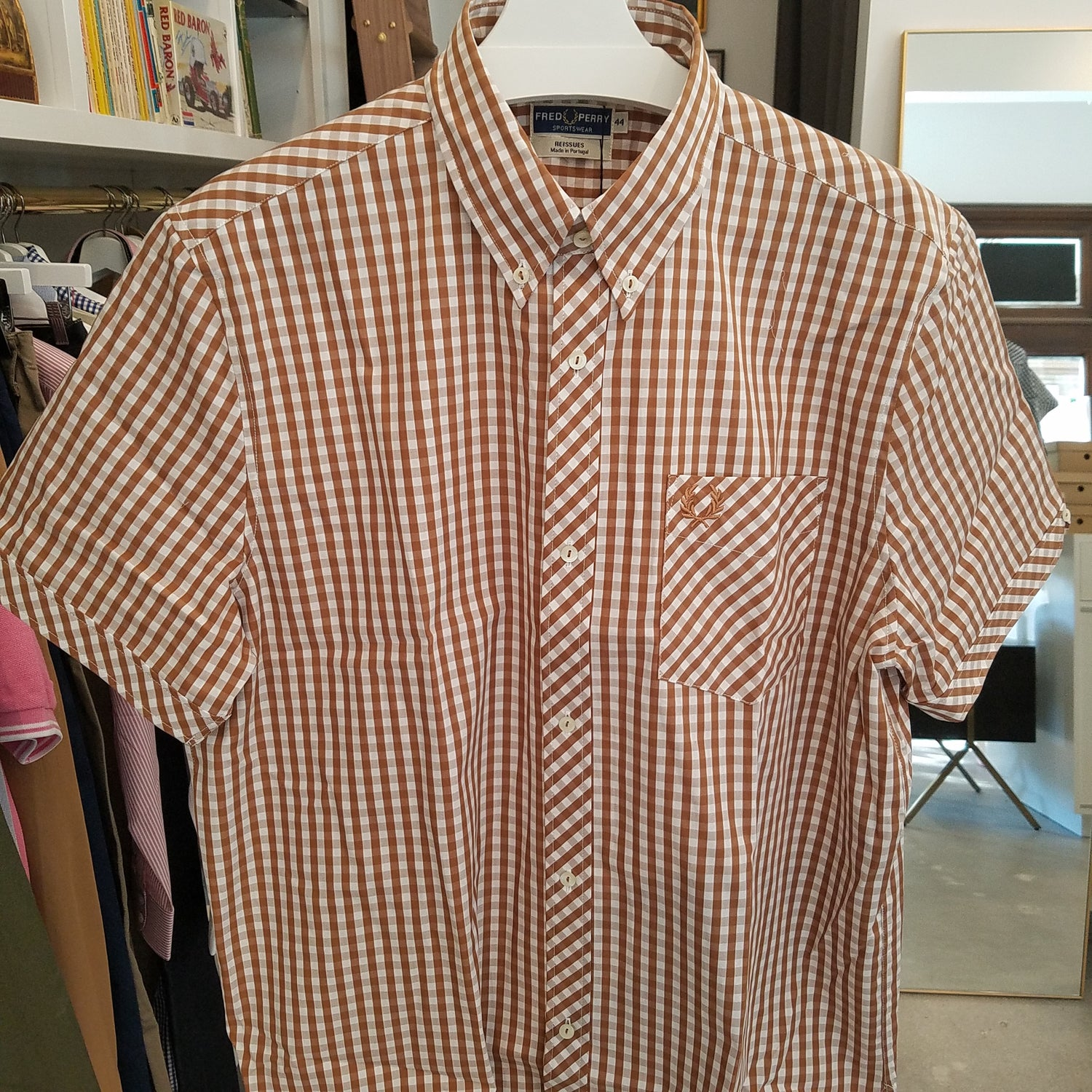 Fred Perry Short Sleeve Button Down