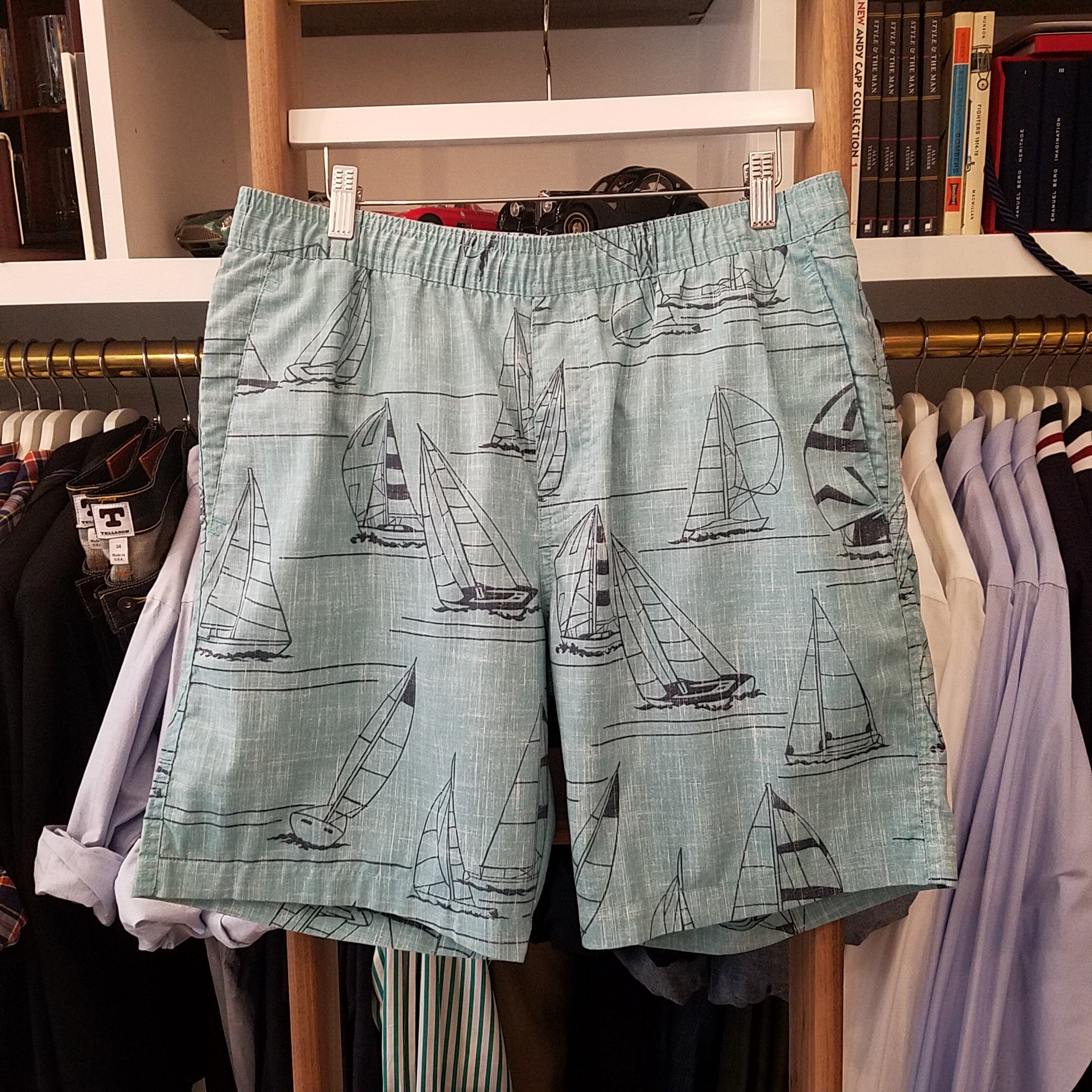 Reyn Spooner Newport to Honolulu Shorts