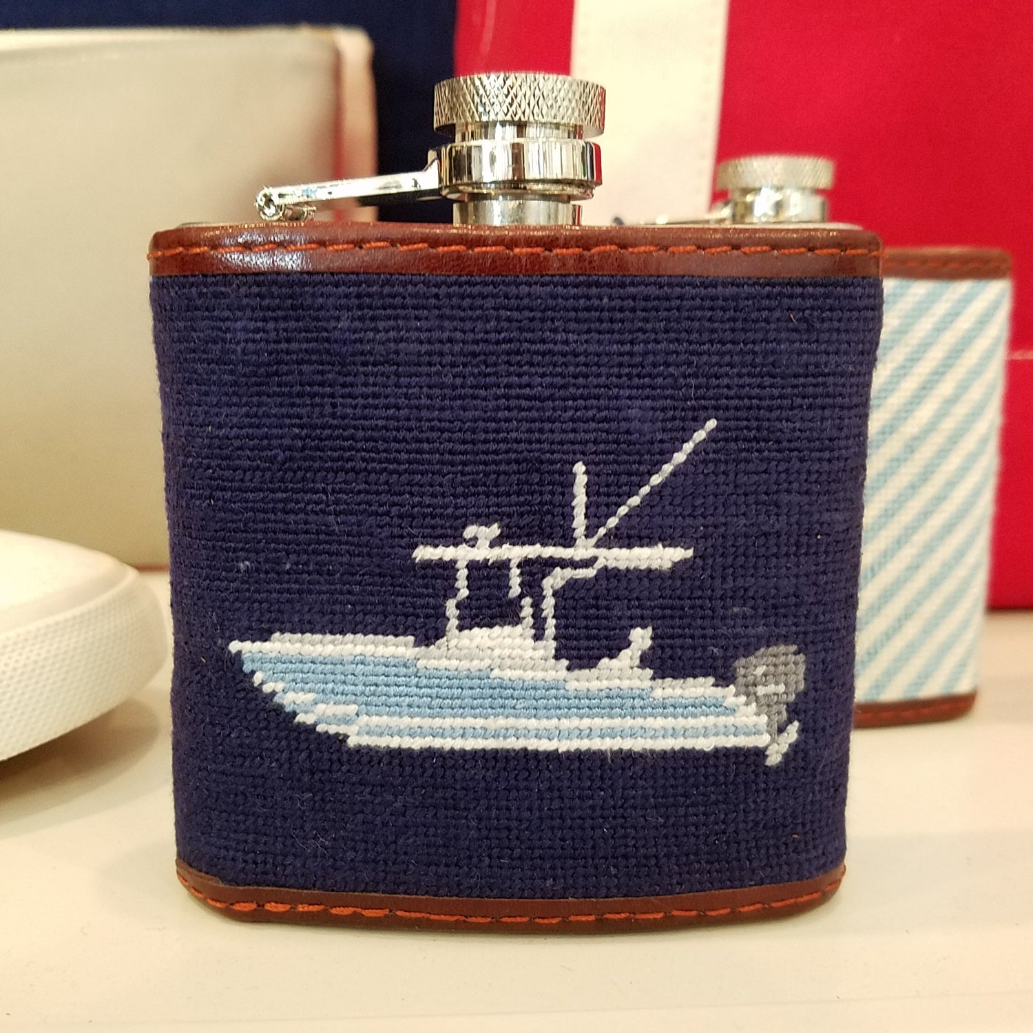 Smathers & Branson Power Boat Flask