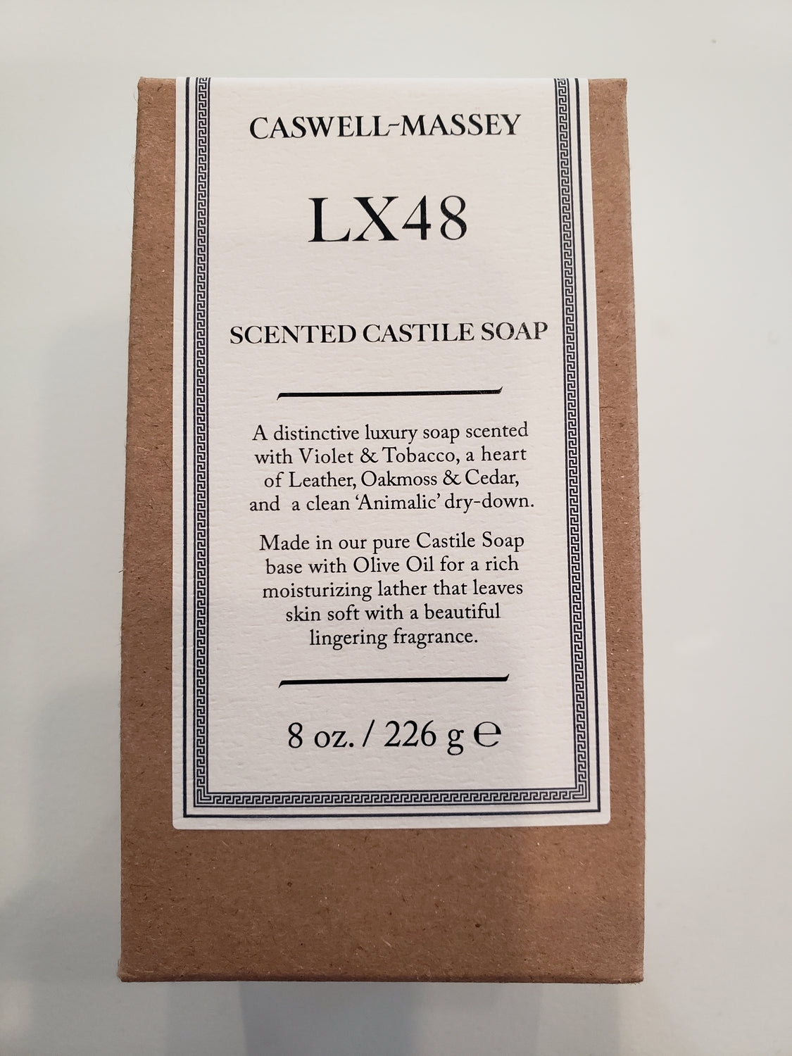 Caswell-Massey LX48 Scented Soap