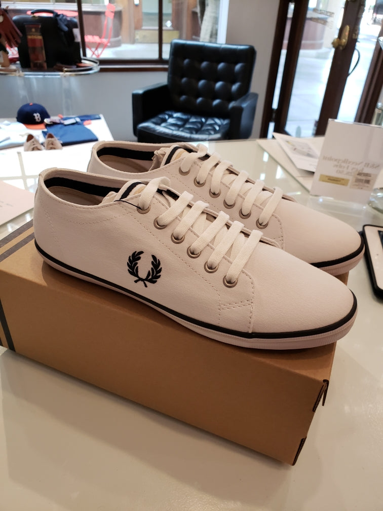 Fred Perry Kingston Twill Tennis Shoe