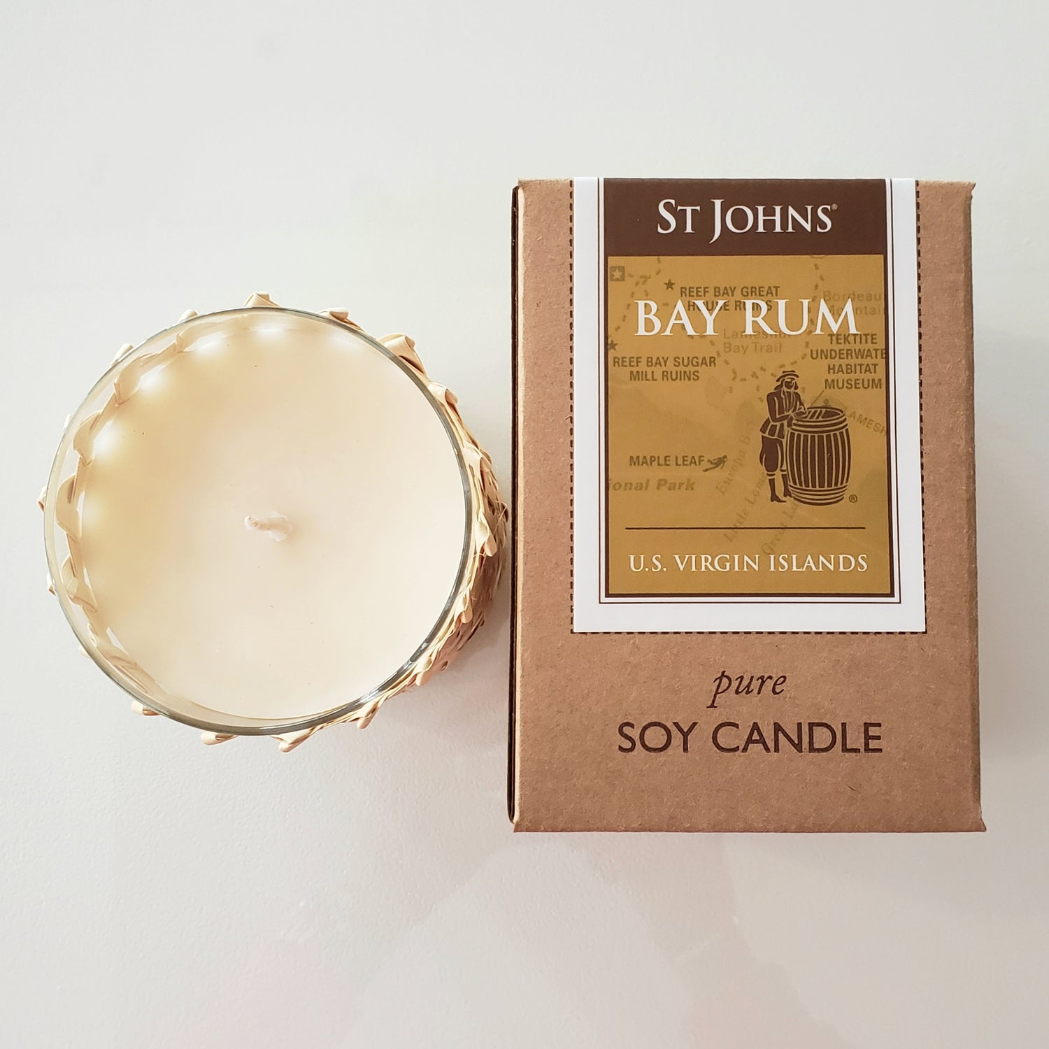 St. Johns Scented Soy Wax Candle