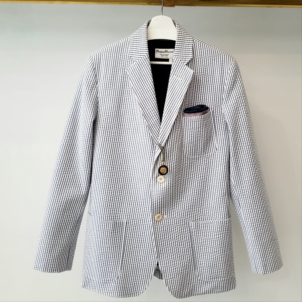 Rowing Blazers Milk-Sugar Seersucker Jacket