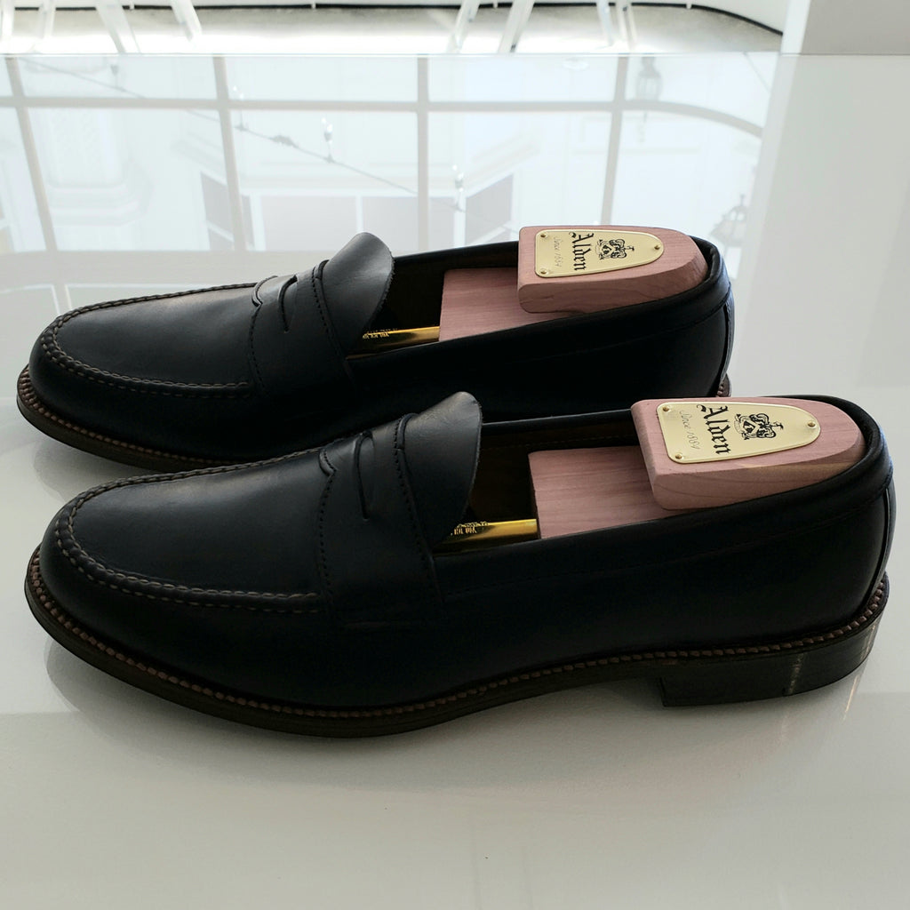 Alden Unlined Flex Penny Loafers