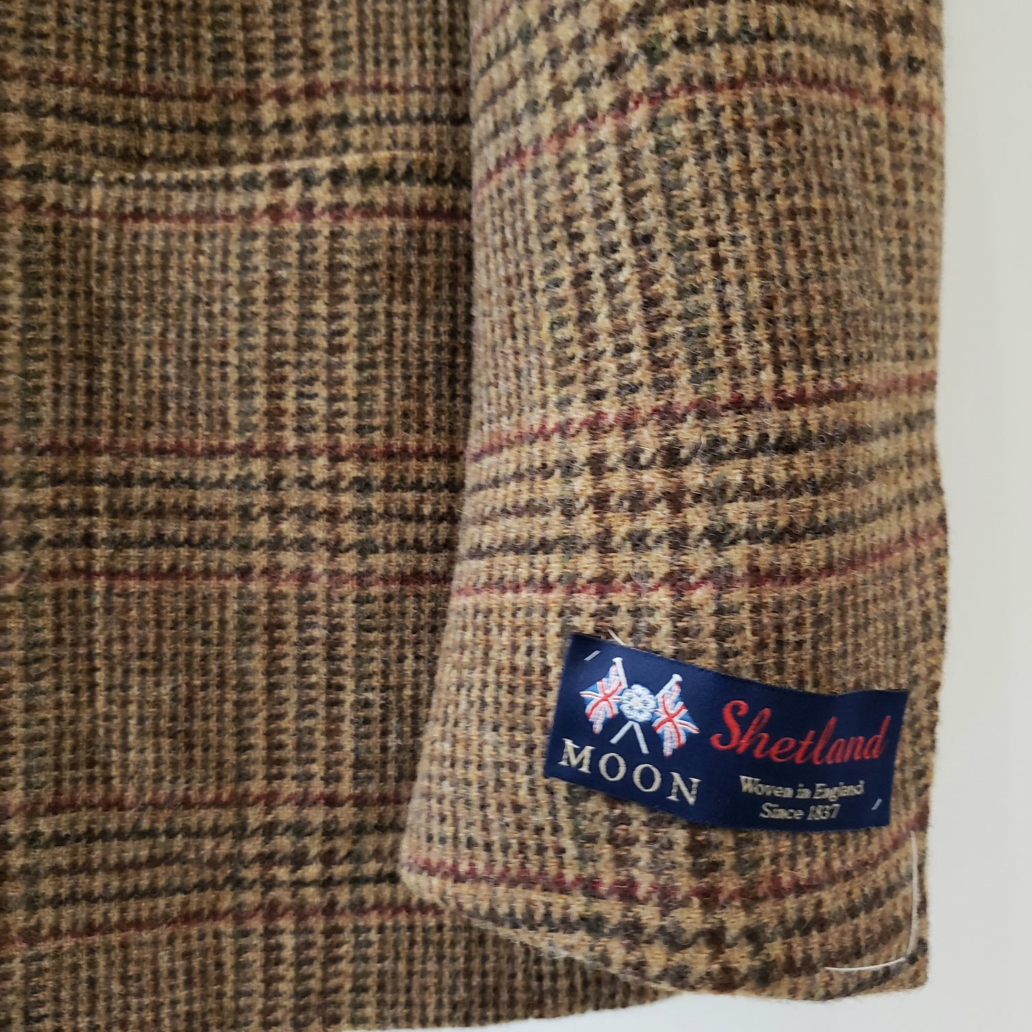 Ring Jacket Tweed Jacket