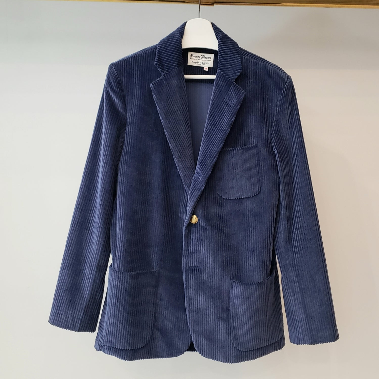 Rowing Blazers Royal Blue Corduroy Jacket