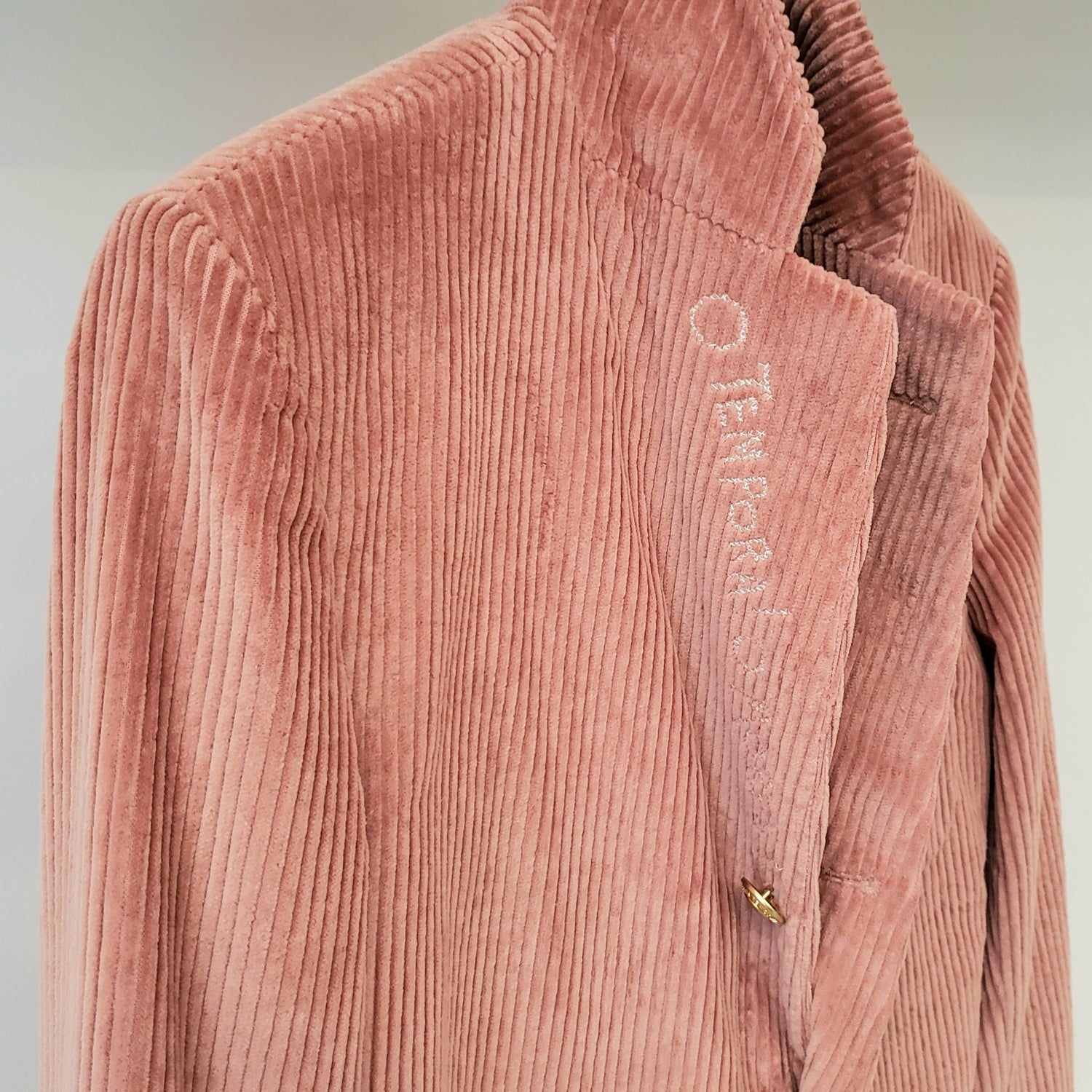 Rowing Blazers Dusty Rose Corduroy Jacket