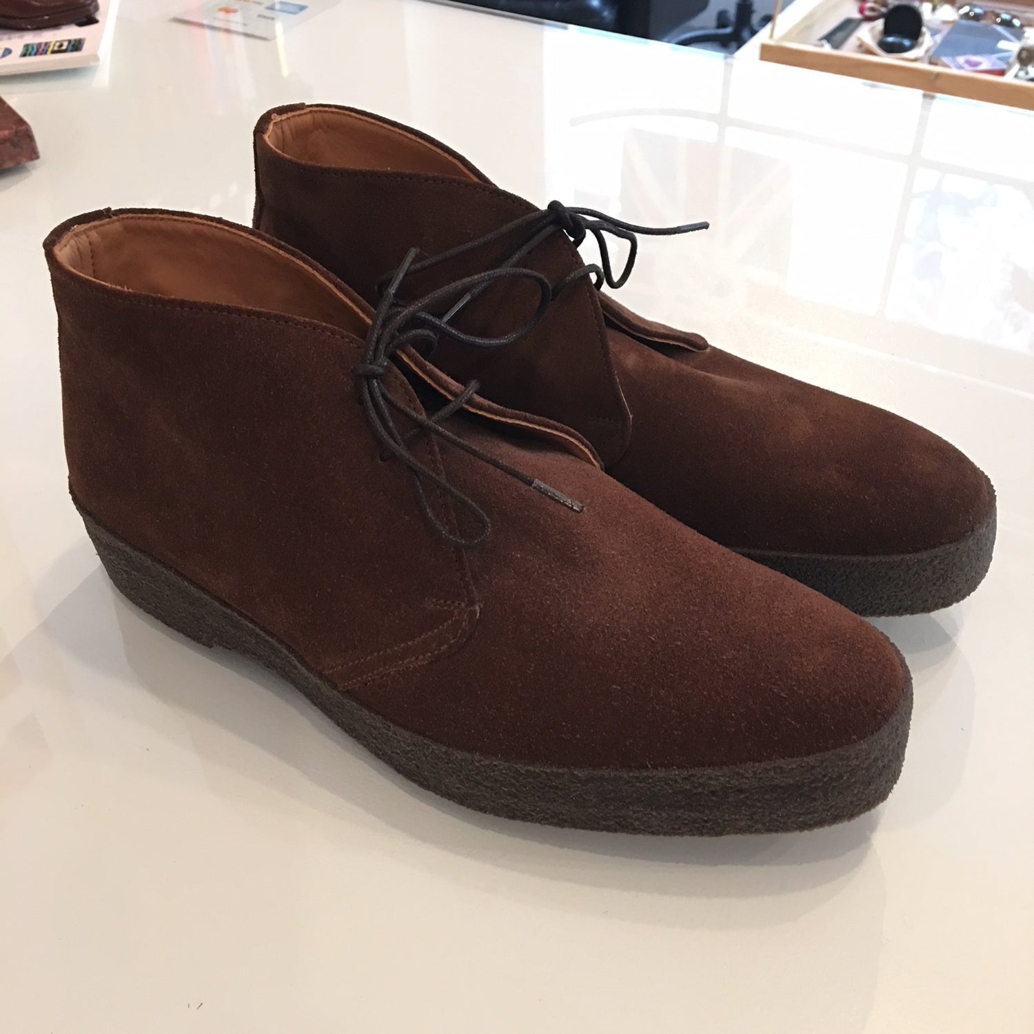 Sanders Hi Top Chukka Boot