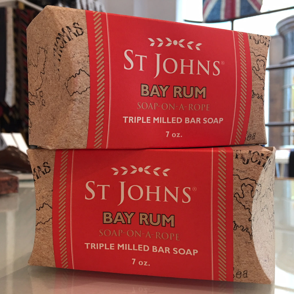 St. Johns Bay Rum Soap on a Rope