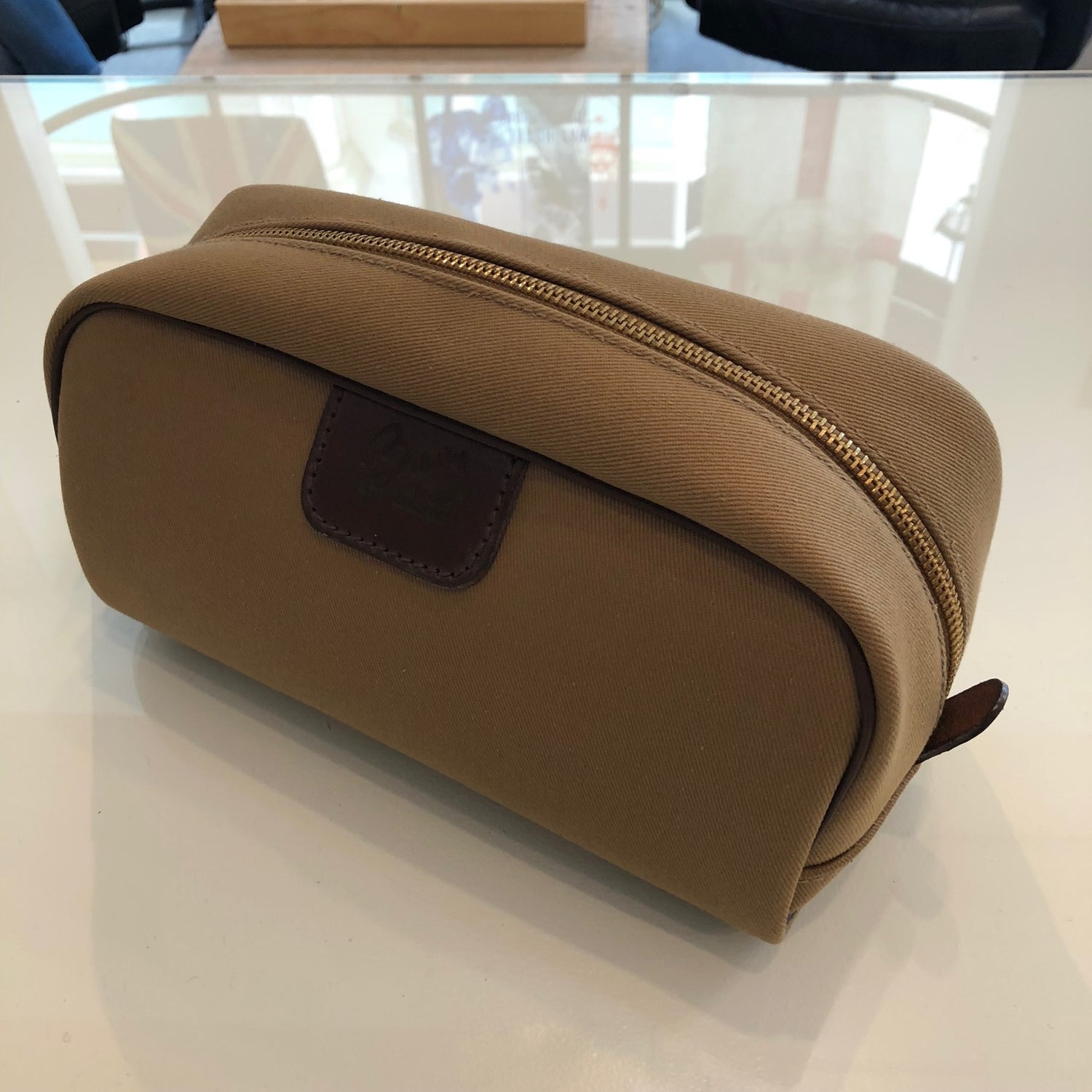 Brady Canvas Wash Bag