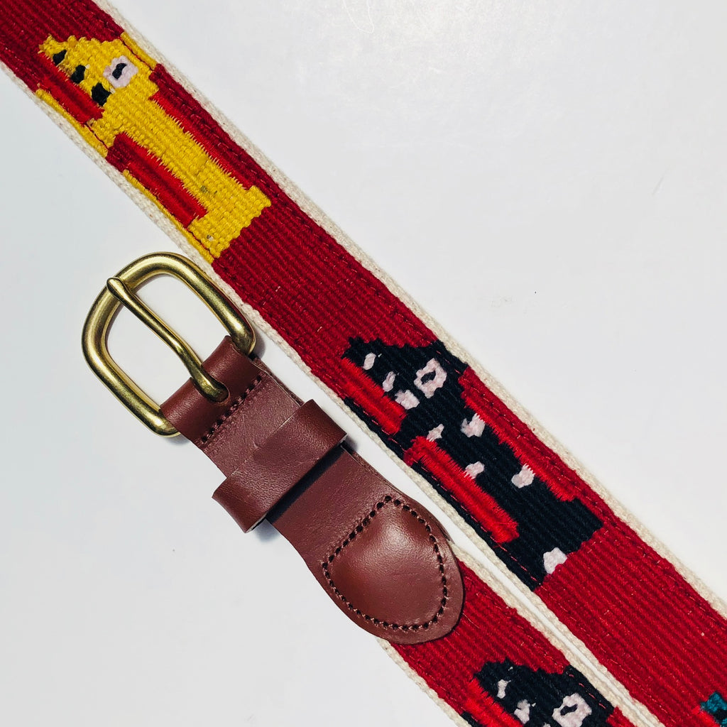 Leather Man Ltd. Guatemalan Dog Belt