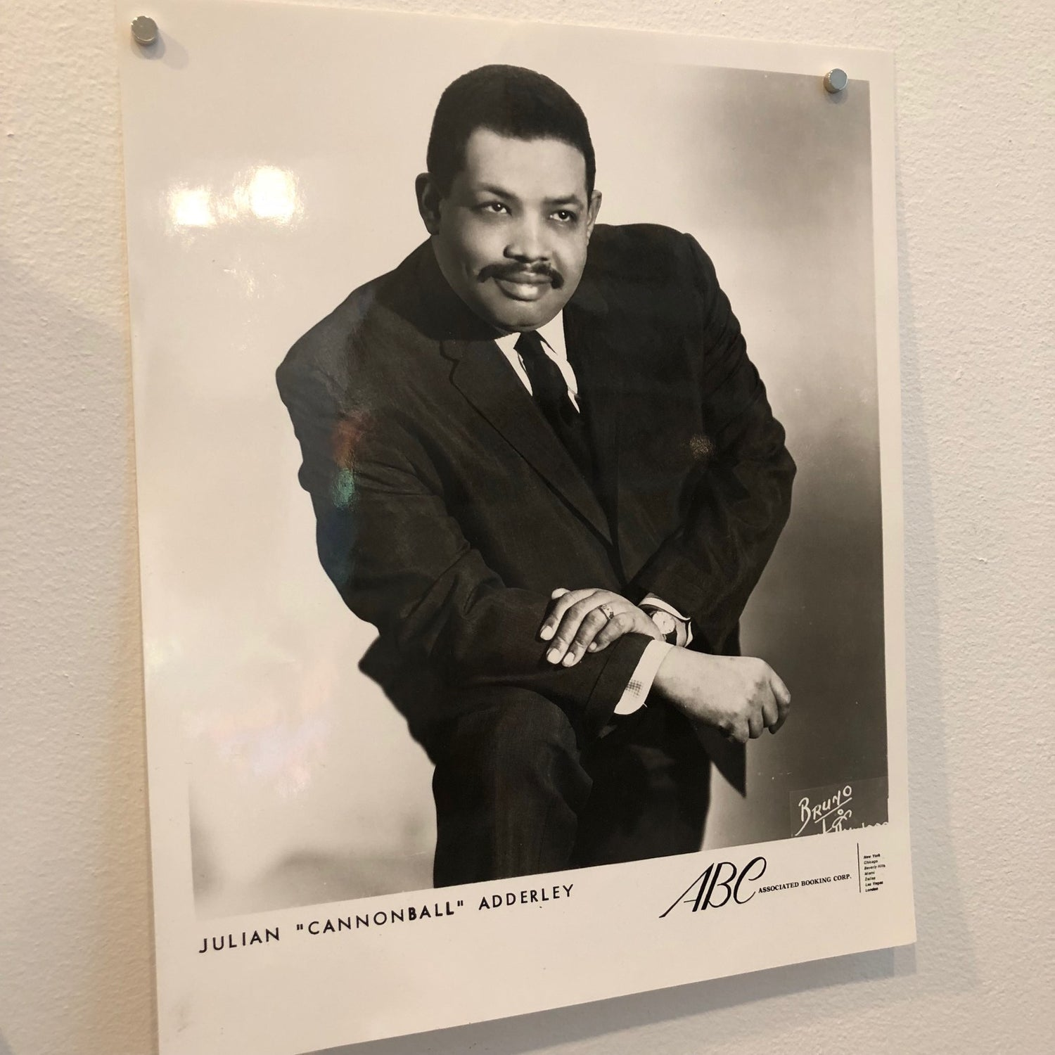 "Julian ""Cannonball"" Adderley  Headshot"