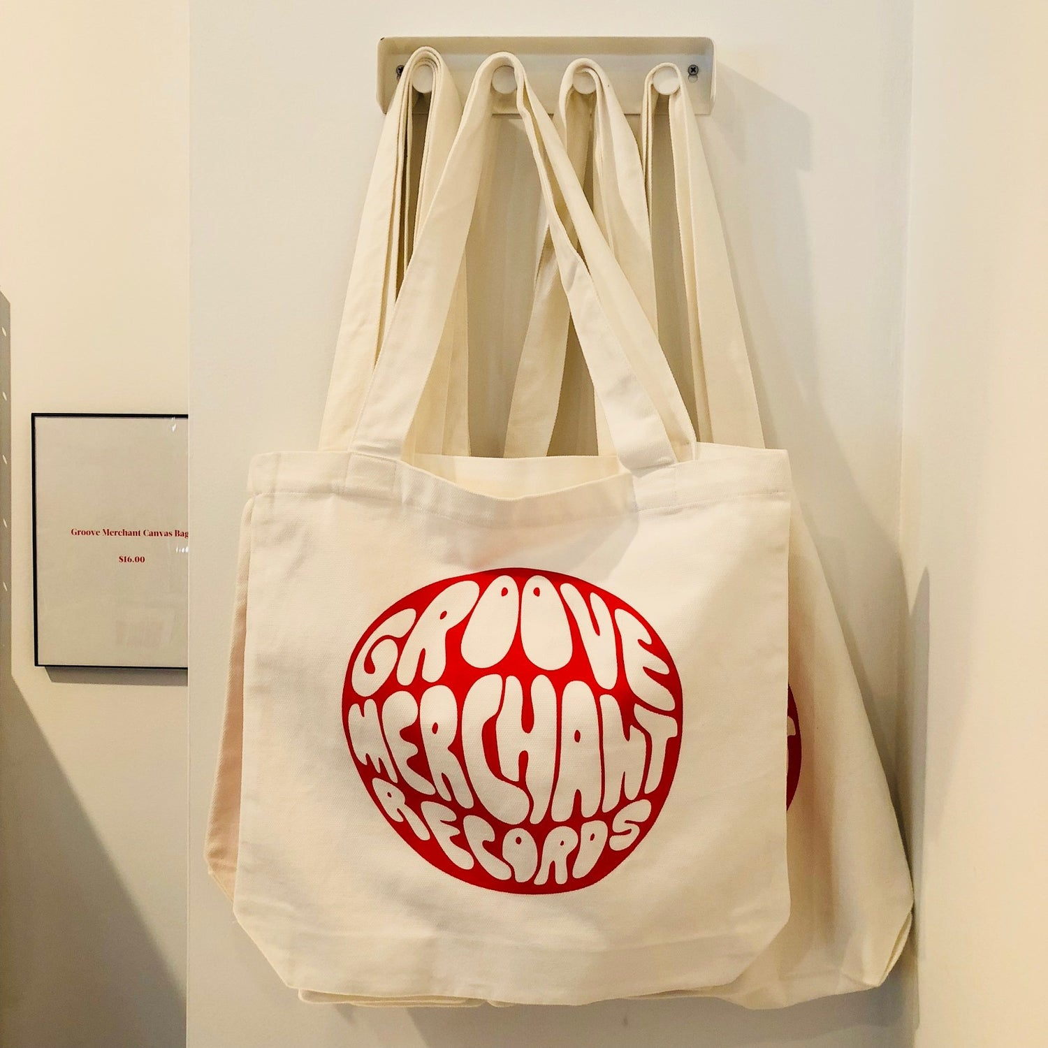 Groove Merchant Records Tote Bag