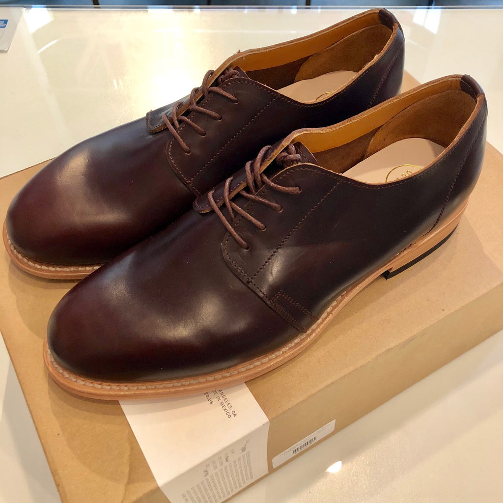 2120 Handcrafted Genuine Leather Lace-Up Derbys