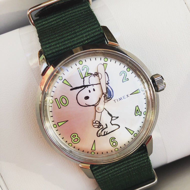 Timex Welton Featuring Snoopy Watch