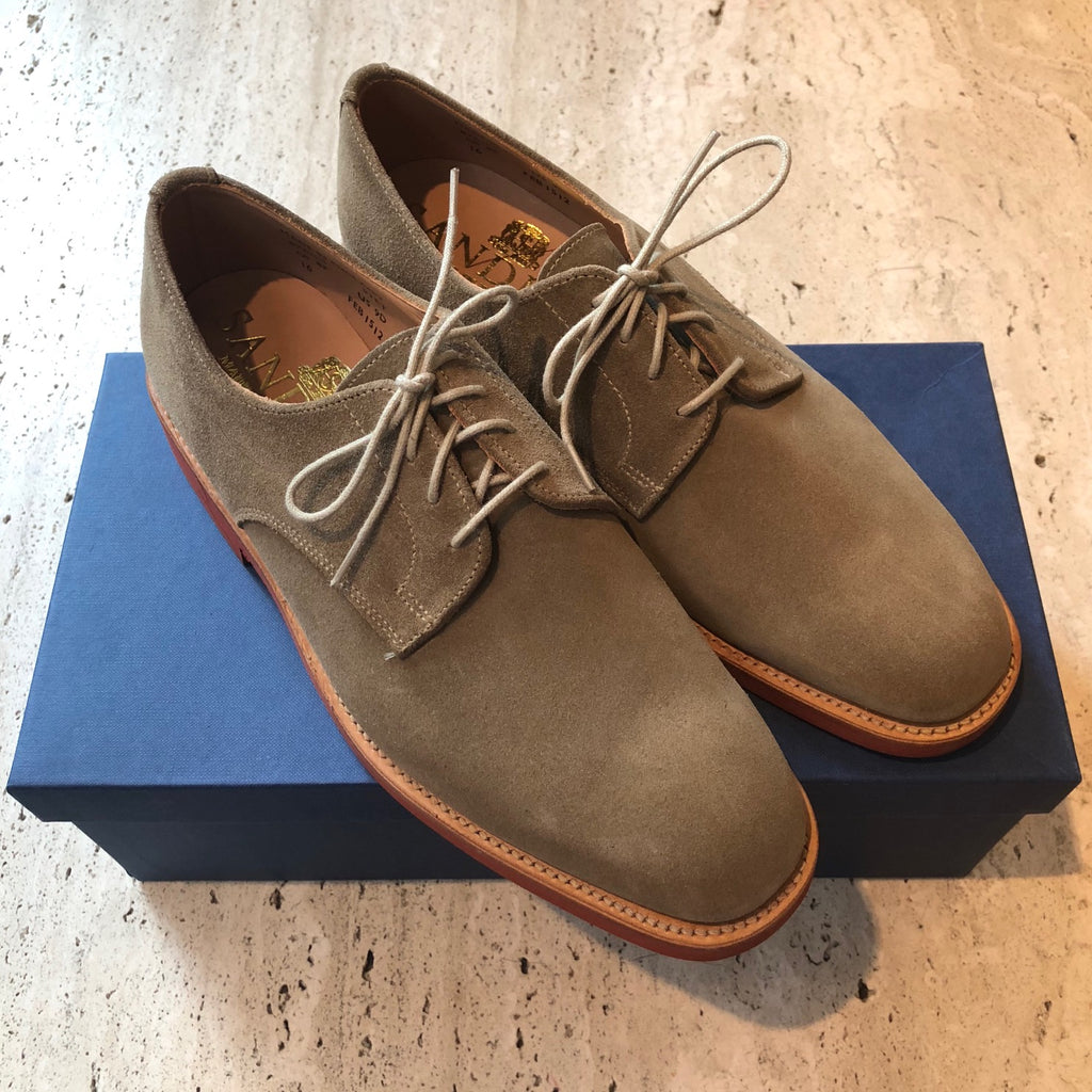 Sanders Jack Dirty Buck Suede Gibson Shoe