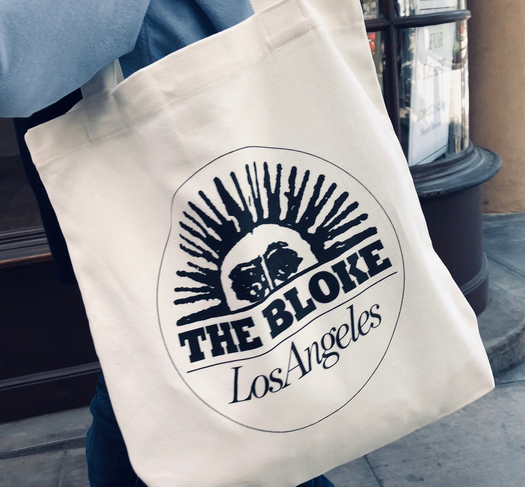 The Bloke Eggshell Canvas Tote Bag