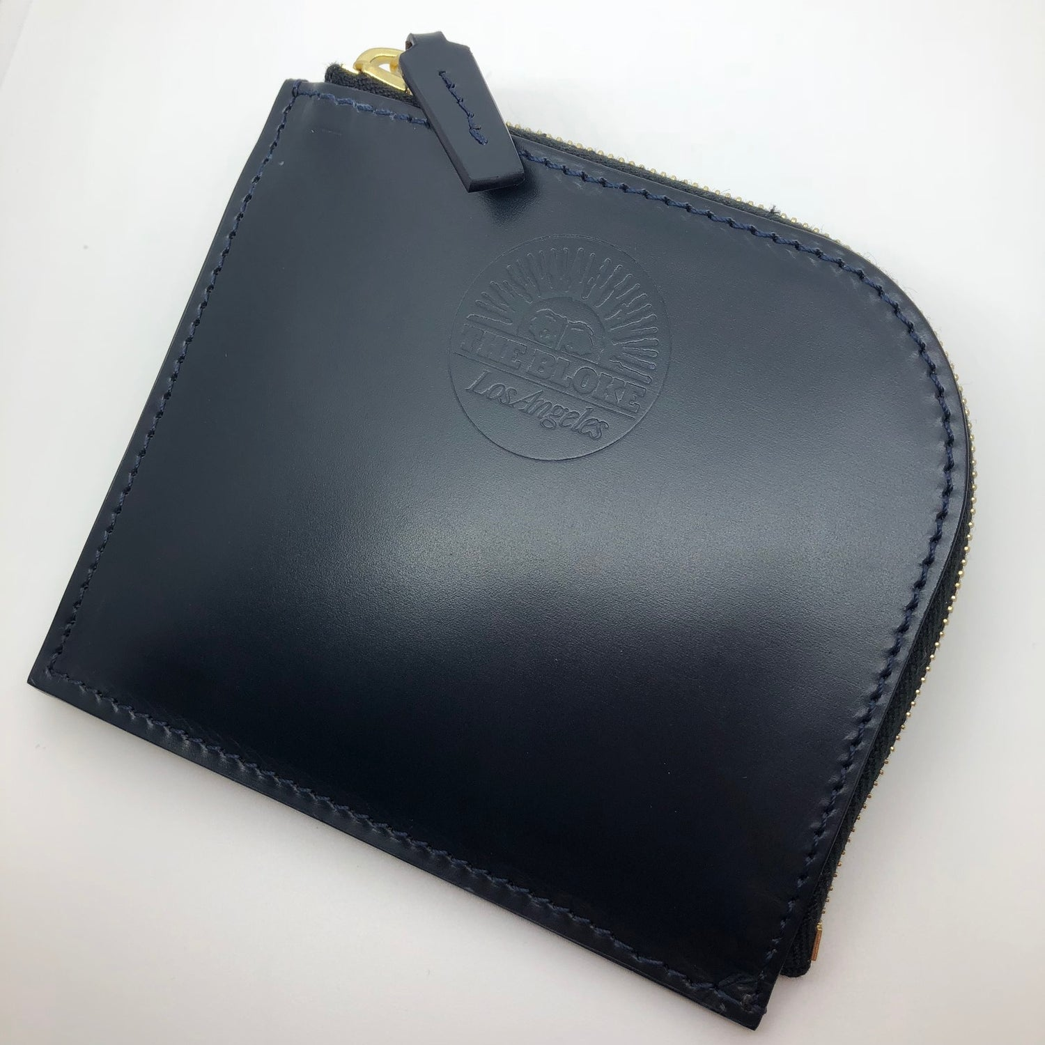 The Bloke X Simpson London Zip Wallet