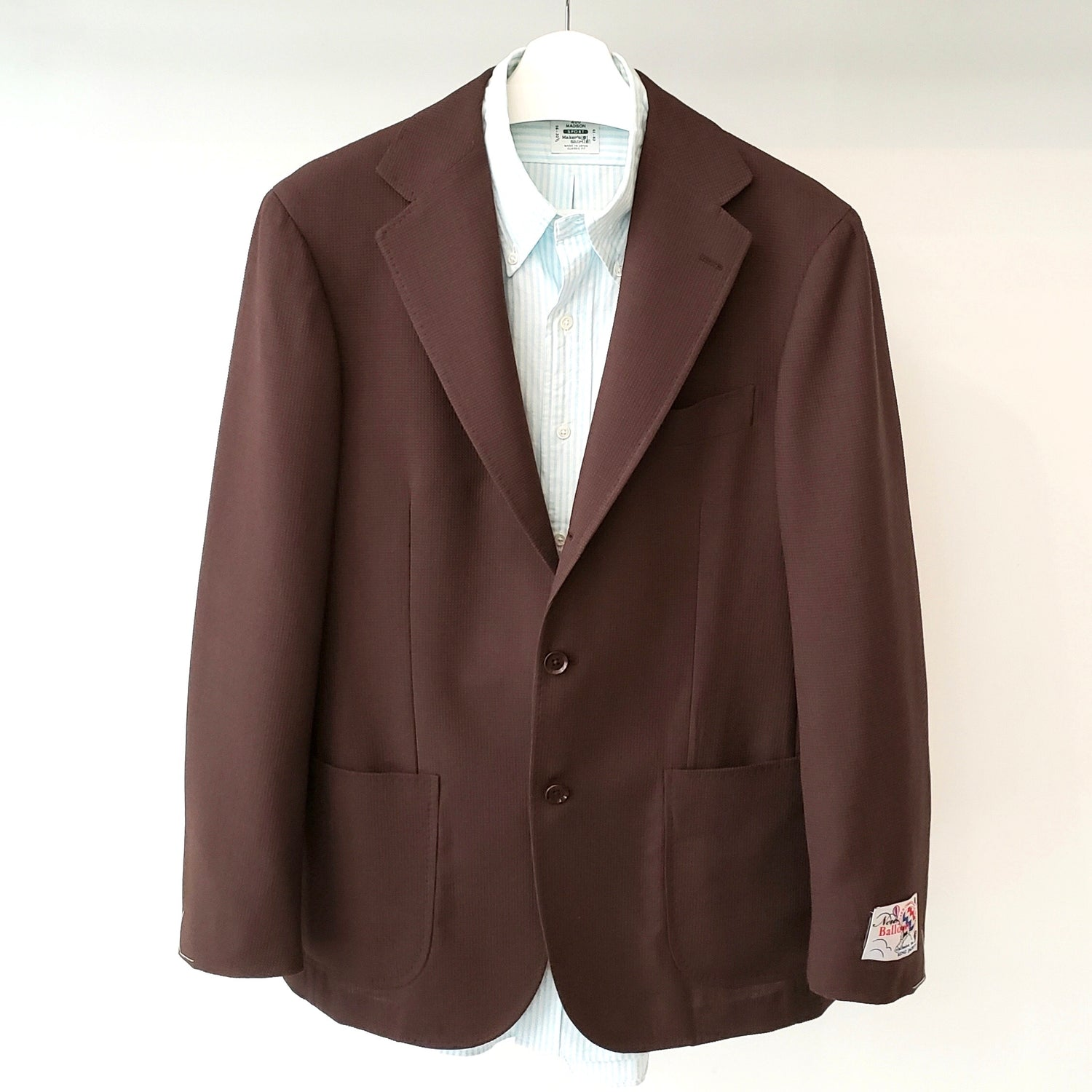 Ring Jacket Brown Ballon Jacket