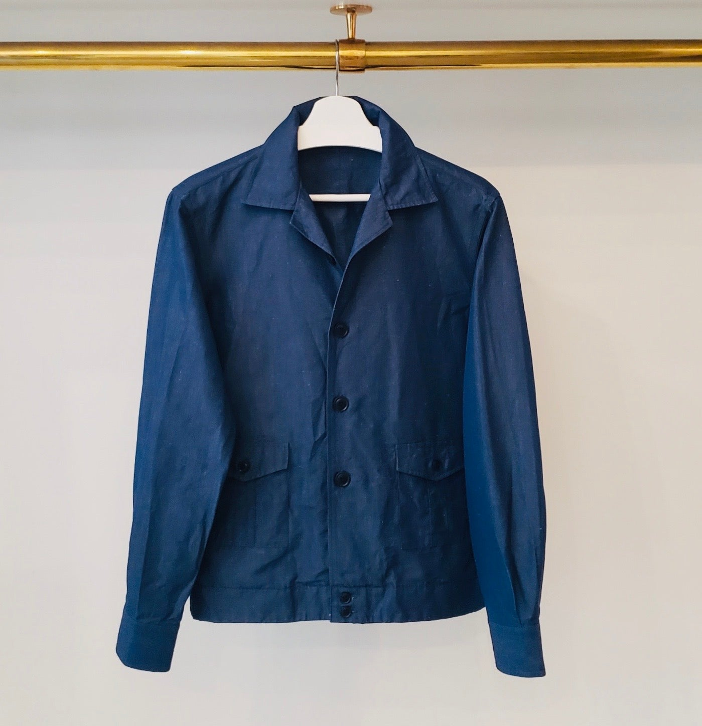 Ring Jacket Japanese Chambray Shirt Jacket