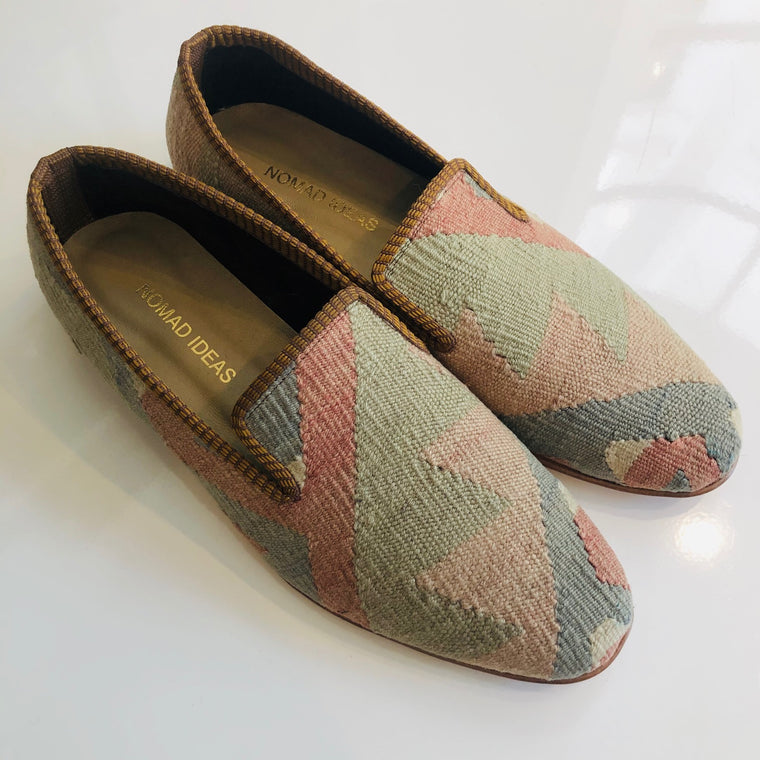 Turkish Kilim Slippers size 43 Euro ( 10 US )
